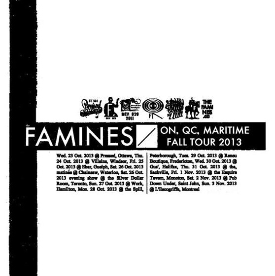 Gig pick: The Famines w/ Average Times & Finderskeepers @ Pressed, October 23rd