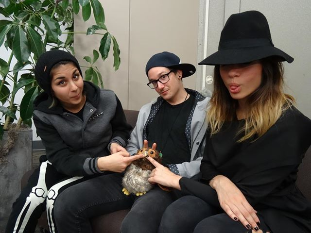 Krewella with Gideon