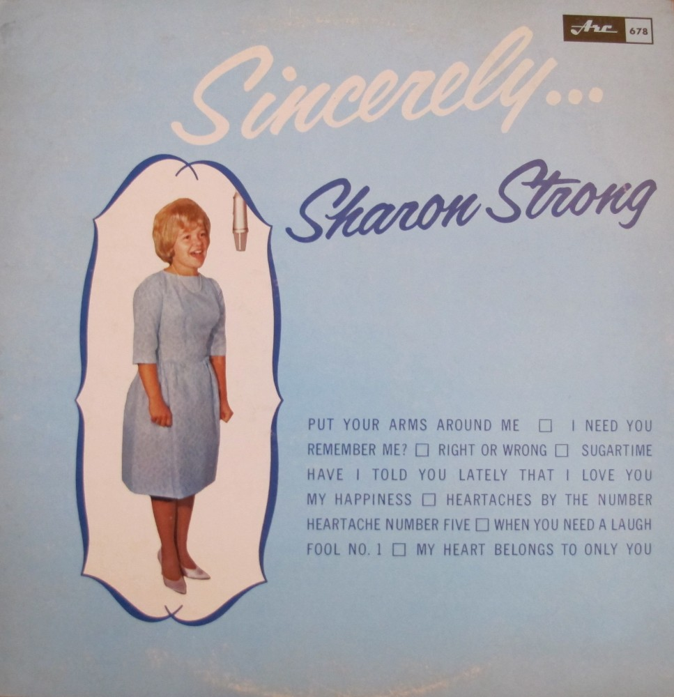 Sharon Strong - Sincerely...