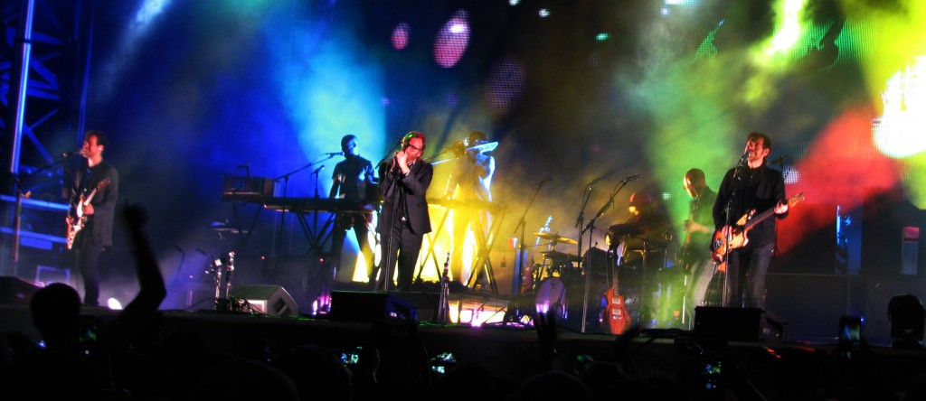 The National closed out the first night of the festival