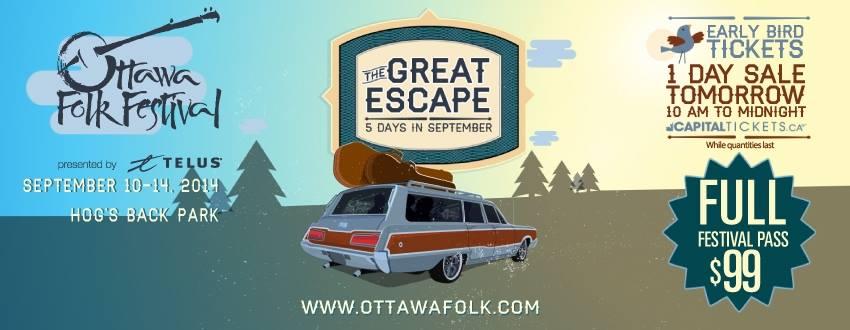 Ottawa Folkfest Announce Stellar Lineup