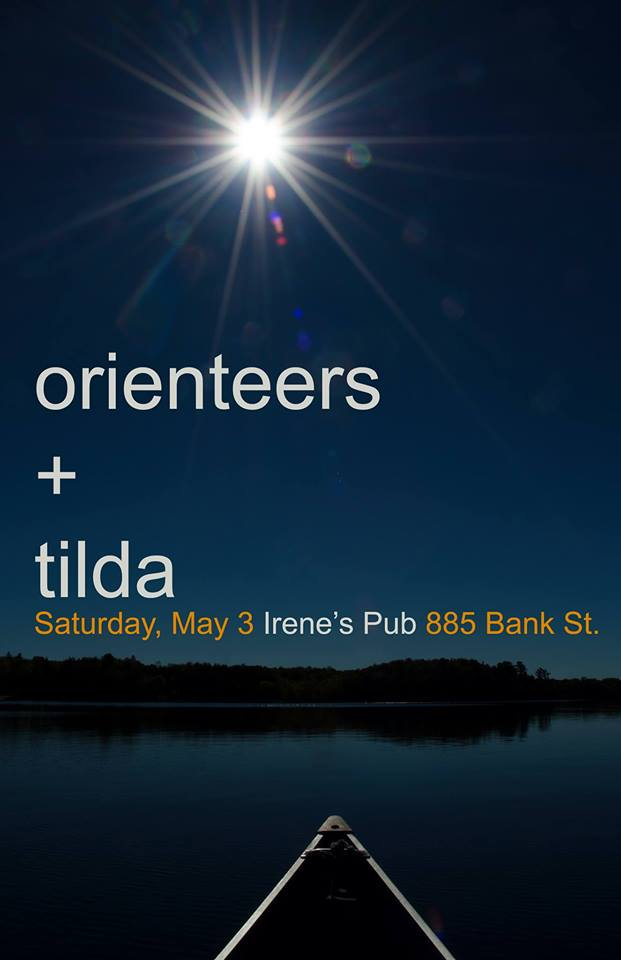 Gig Pick: Orienteers and Tilda on May 3 @ Irene's