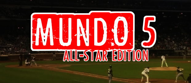 Mundo 5: All-Star MLB Walk-up songs