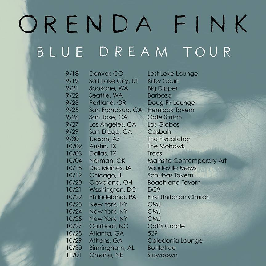 Orenda Fink Tour