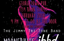Gig Pick: The Jimmy Tri-Tone Band, Moonfruits, JBKD @ Georgetown Pub Feb 20