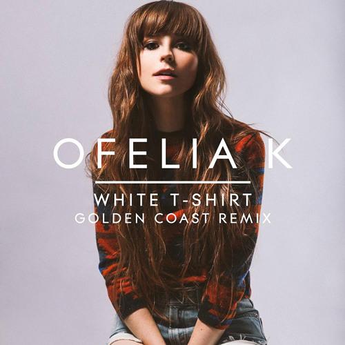 Ofelia K - Golden Coast - White T-Shirt