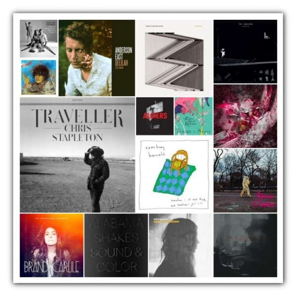50 Favorite Albums 2015 - Part 1