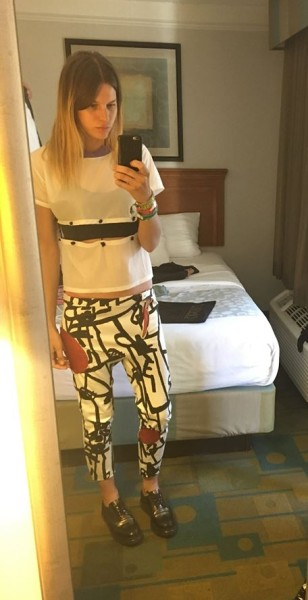Sofie Winterson - outfit NY