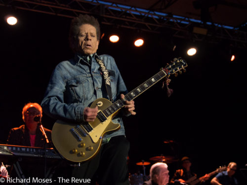 Blondie Chaplin performs with Brian Wilson's band