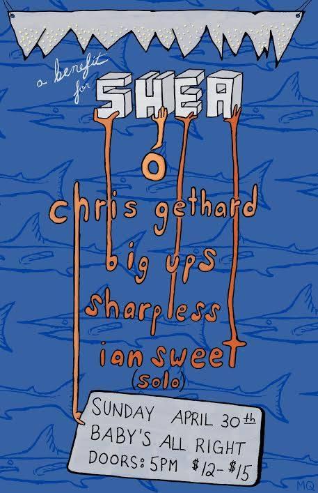 Shea Stadium Benefit Poster