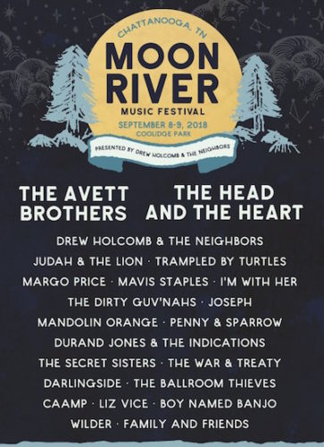 Moon River Festival 2018 preview