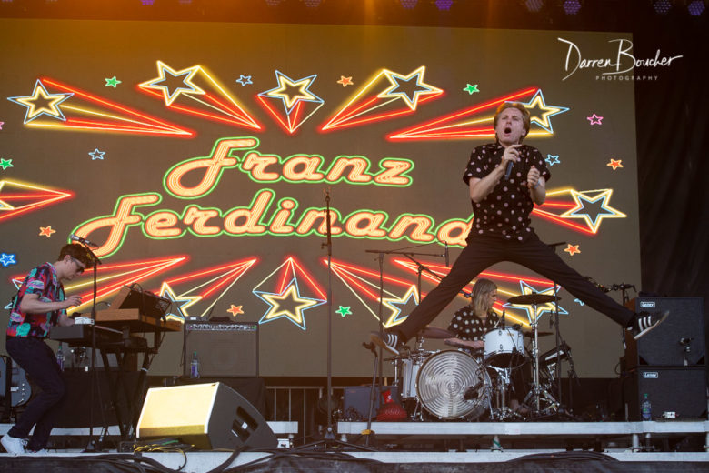 Franz Ferdinand Aug 5, 2018 Osheaga Montreal, Canada